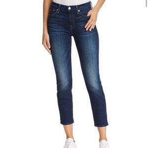7 For All Mankind Kimmie Crop Ankle Jeans